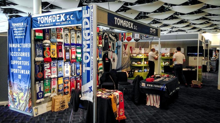 SMMEX – Sports Merchandise and Marketing Exhibition. KEEZA i TOMADEX